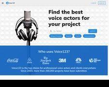 Voice123 Reviews - 44 Reviews of Voice123.com | Sitejabber